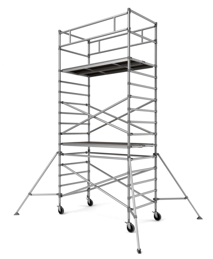 Scaffolding Set Up : Mobile scaffold singapore affordably priced tower