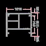 Ladder Frame A-404L